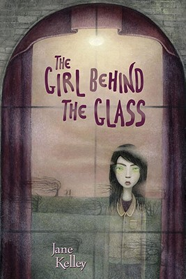 The Girl Behind the Glass Cover