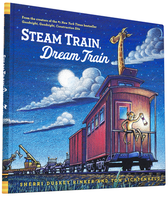 Steam Train, Dream Train (Easy Reader Books, Reading Books for Children) Cover Image