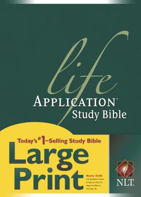 Life Application Study Bible-NLT-Large Print Cover Image