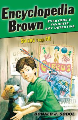 Encyclopedia Brown Solves Them All Cover Image