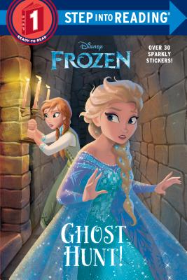Ghost Hunt! (Disney Frozen) (Step into Reading) Cover Image