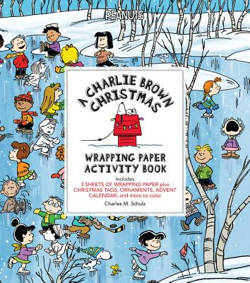 A Charlie Brown Christmas Wrapping Paper Activity Book Cover Image