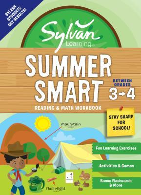 Sylvan Summer Smart Workbook: Between Grades 3 & 4 (Sylvan Summer Smart Workbooks) Cover Image