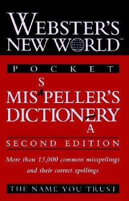 Webster's New World Misspeller's Dictionary (Pocket)  Cover Image