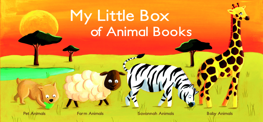 My Little Box of Animal Books Cover