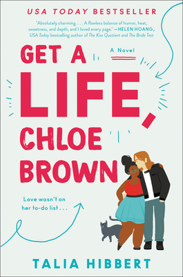 Get a Life, Chloe Brown: A Novel (The Brown Sisters #1) Cover Image