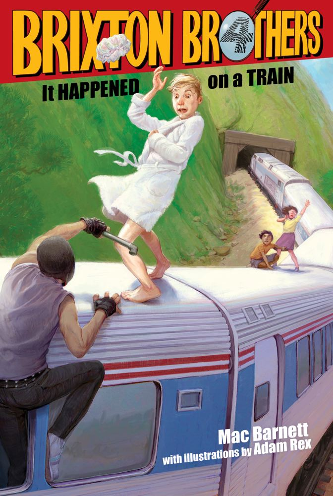 It Happened on a Train (Brixton Brothers #3) Cover Image