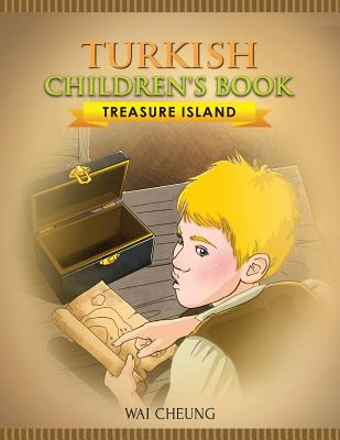 Turkish Children's Book: Treasure Island Cover Image