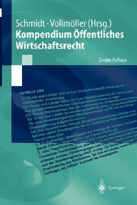 Kompendium Offentliches Wirtschaftsrecht (Springer-Lehrbuch) Cover Image