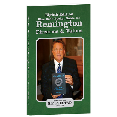 8th Edition Blue Book Pocket Guide for Remington Firearms and Values Cover Image