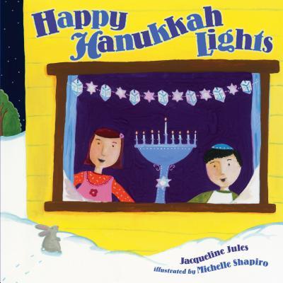 Happy Hanukkah Lights Cover Image