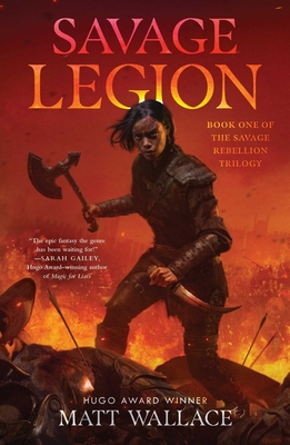 Cover for Savage Legion (Savage Rebellion #1)