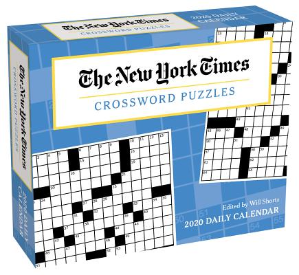 The New York Times Crossword Puzzles 2020 Day-to-Day Calendar Cover Image
