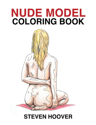 Nude Model Coloring Book Cover Image