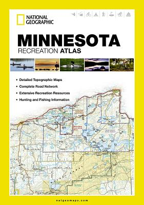Minnesota Recreation Atlas (National Geographic Recreation Atlas) Cover Image
