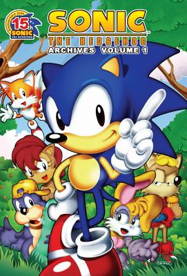 Sonic the Hedgehog Archives 1 Cover