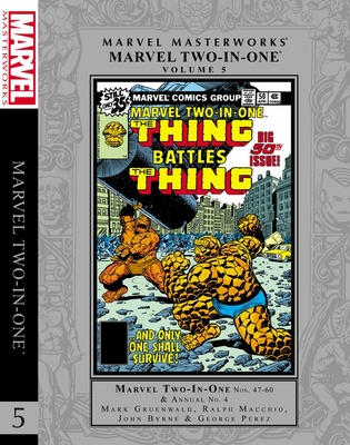 Marvel Masterworks: Marvel Two-In-One Vol. 5 Cover Image