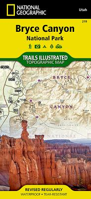 Bryce Canyon National Park (National Geographic Trails Illustrated Map #219) Cover Image