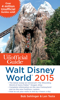 The Unofficial Guide to Walt Disney World 2015 Cover Image