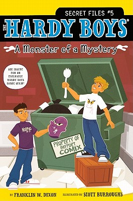 A Monster of a Mystery Cover Image