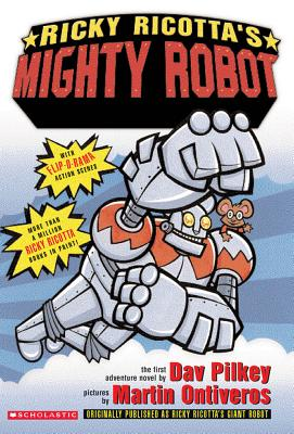 Ricky Ricotta's Mighty Robot Cover