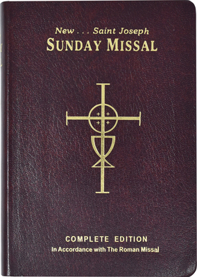 St. Joseph Sunday Missal: Complete Edition in Accordance with the Roman Missal Cover Image