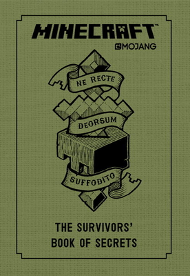 Minecraft: The Survivors' Book of Secrets: An Official Mojang Book Cover Image