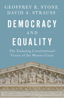 Cover for Democracy and Equality