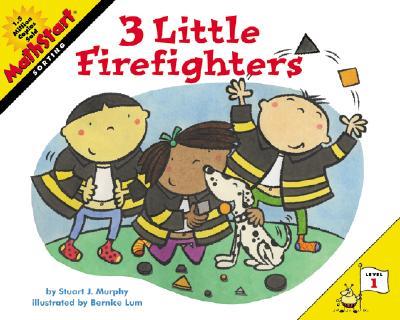 3 Little Firefighters (MathStart 1) Cover Image