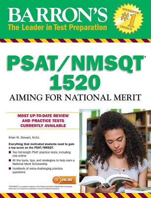 Barron's PSAT/NMSQT 1520: Aiming for National Merit Cover Image