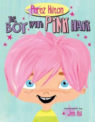 The Boy with Pink Hair Cover