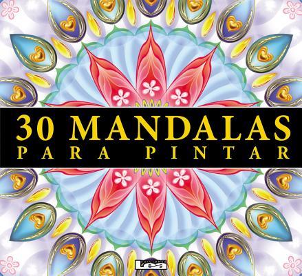 30 mandalas para pintar Cover Image
