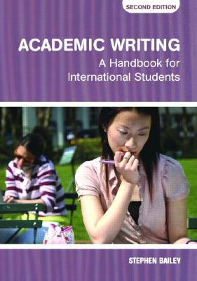 Academic Writing: A Handbook for International Students Cover Image