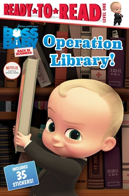 Operation Library! (The Boss Baby TV) Cover Image