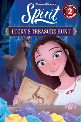Spirit: Lucky's Treasure Hunt (Passport to Reading Level 2) Cover Image