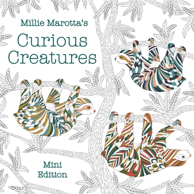 Millie Marotta's Curious Creatures: Mini Edition (Millie Marotta Adult Coloring Book) Cover Image