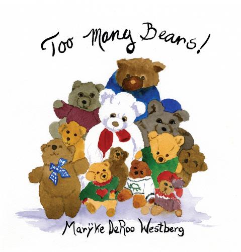 Too Many Teddy Bears! Cover Image