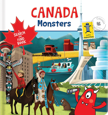 Canada Monsters: A Search and Find Book Cover Image