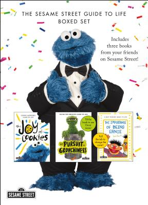 The Sesame Street Guide to Life Boxed Set: The Joy of Cookies, The Pursuit of Grouchiness, and The Importance of Being Ernie (and Bert) Cover Image