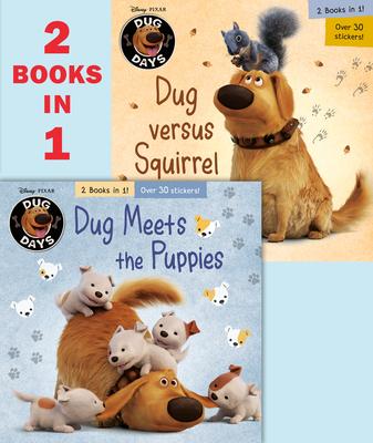 Dug Meets the Puppies/Dug Versus Squirrel (Disney/Pixar Dug Days) (Pictureback(R)) Cover Image