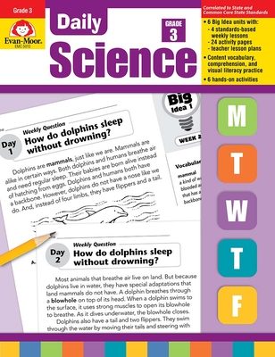 Daily Science Grade 3 (Daily Practice Books) Cover Image