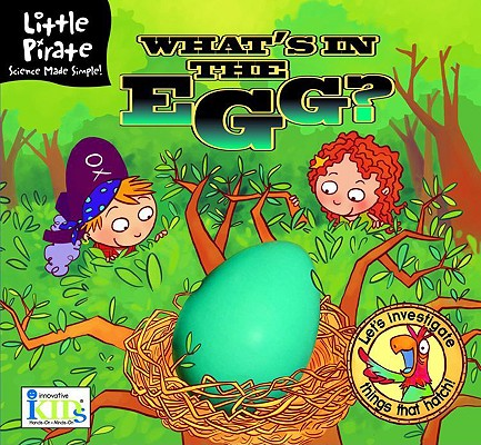 Little Pirate: What's in the Egg? Cover Image
