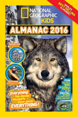 National Geographic Kids Almanac 2016 Cover Image