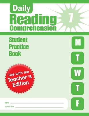 Daily Reading Comprehension, Grade 7 Sb Cover Image
