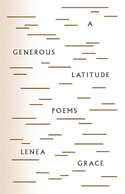 Cover for A Generous Latitude