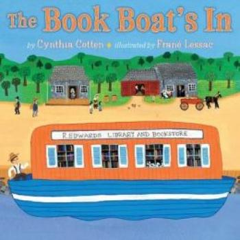 The Book Boat's in Cover