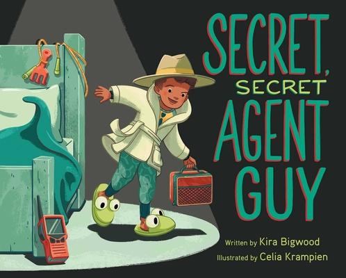 Secret, Secret Agent Guy Cover Image