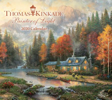 Thomas Kinkade Painter of Light 2020 Deluxe Wall Calendar Cover Image