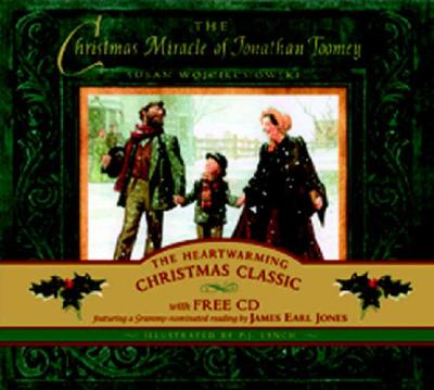 The Christmas Miracle of Jonathan Toomey Book and CD Cover Image