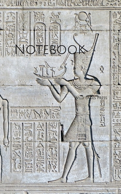 Notebook: Egypt Temple Antiquity Archaeology Egyptian Cover Image